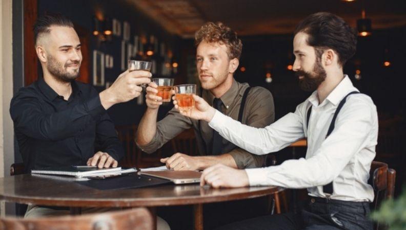businessmen negotiations